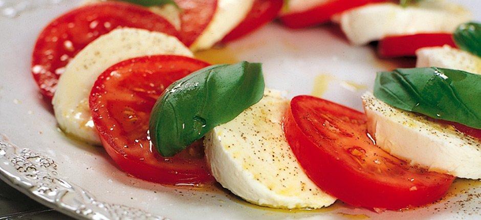 Tomat och mozarellasallad