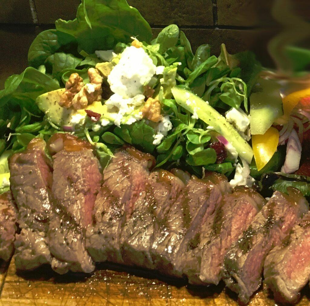 Recept på Steak Salad