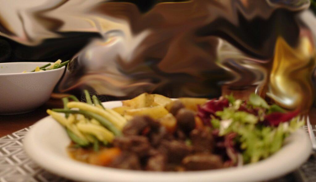 Recept på Vildsvinsgryta med svamp