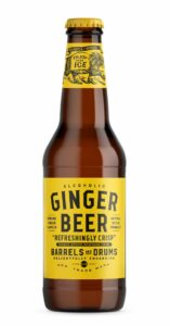Barrels and Drums Ginger Beer, 33 cl flaska