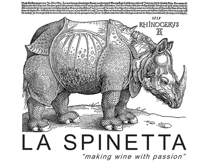 La Spinetta, noshörning, skylt egendom Rivetti
