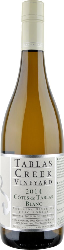 2014 Cotes de Tablas Blanc copy