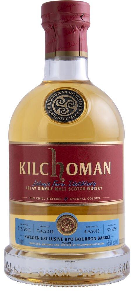 Kilchoman Sweden 8YO