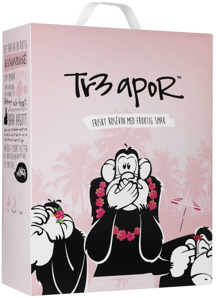Tr3 Apor Rose BIB 2019