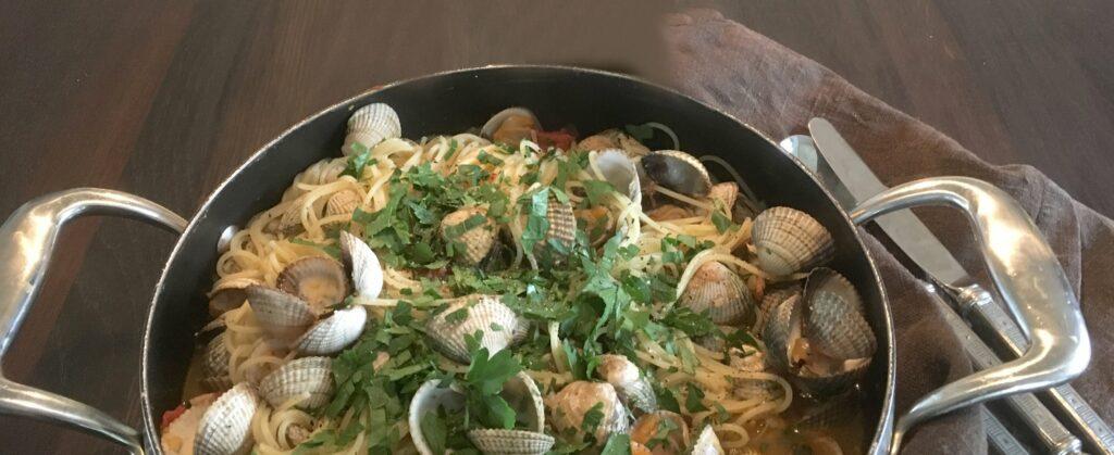 Recept på den italienska klassikern Pasta Vongole