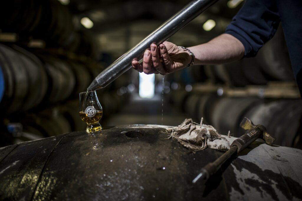 Kilchoman whiskyglas
