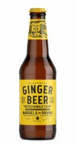 Barrels and Drums Ginger Beer, 33 cl flaska